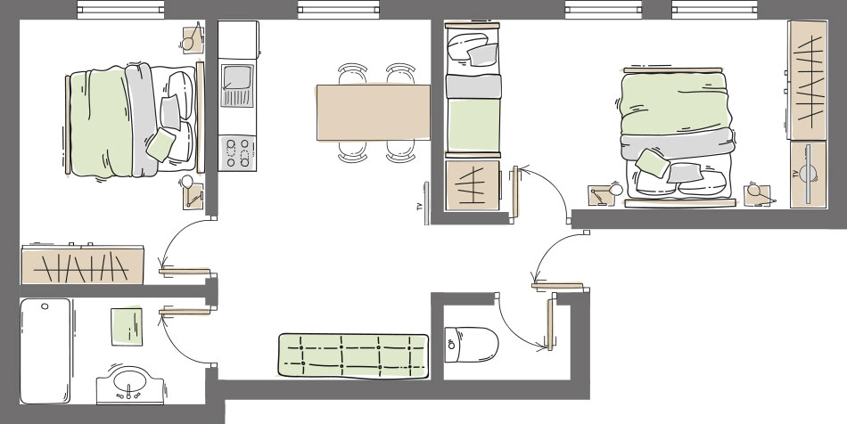 Apartment Type 1