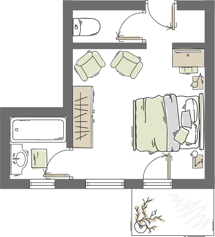 Doppelzimmer Ramolkogel