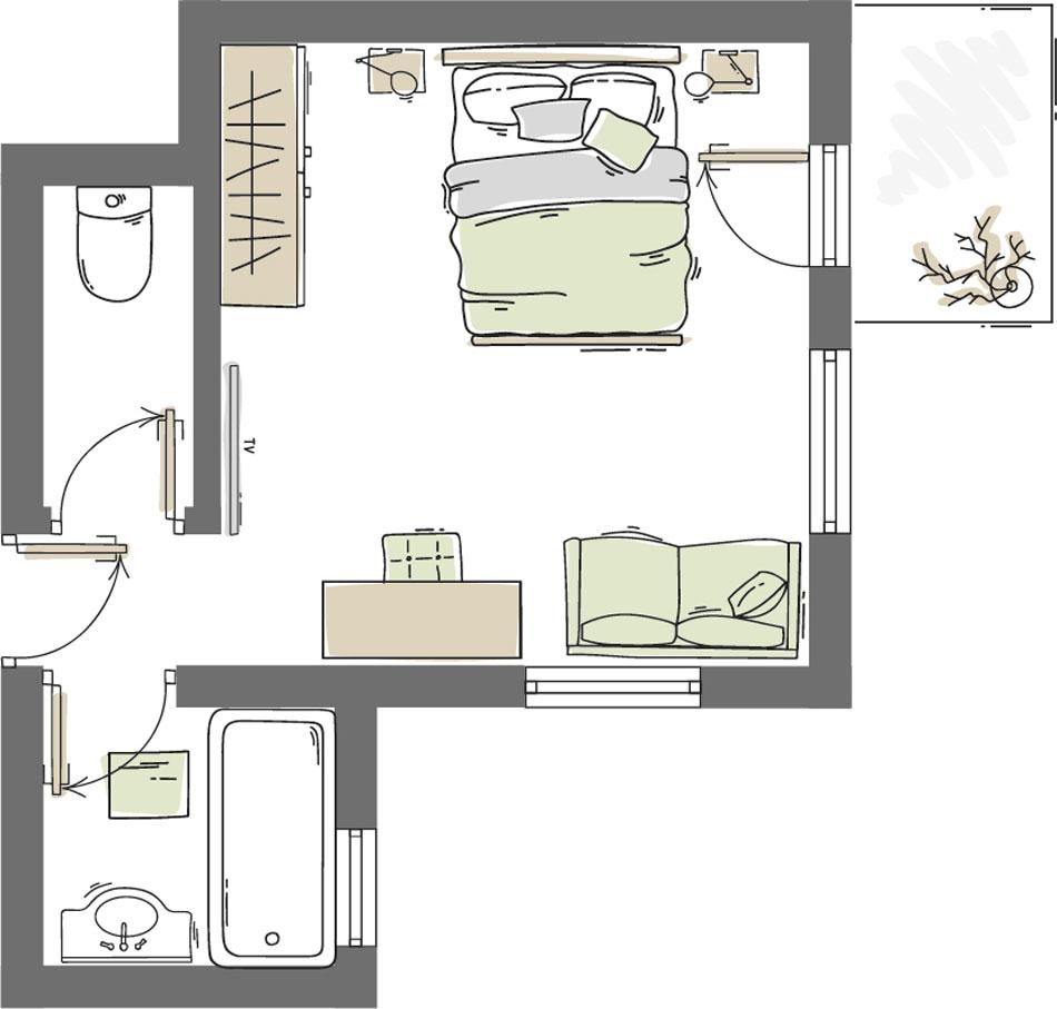 Doppelzimmer Festkogel